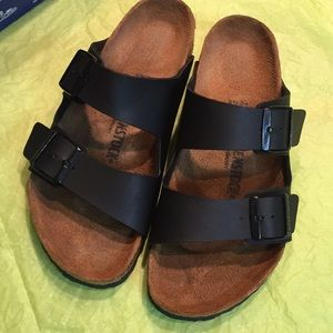 Birkenstock sandals (40) L9M7 EUC like new